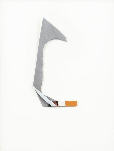 Tom Wesselmann, 'Smoking Cigarette', 1999