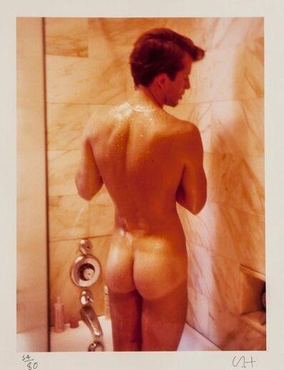 David Hockney, 'Peter Showering', 1976