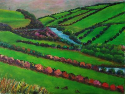 William Kelley, 'On the Road to Dingle, Ireland'