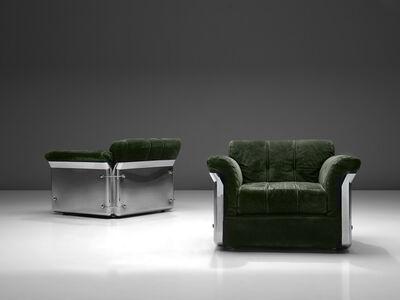 Vittorio Introini, 'Pair of 'Larissa' Lounge Chairs', 1969