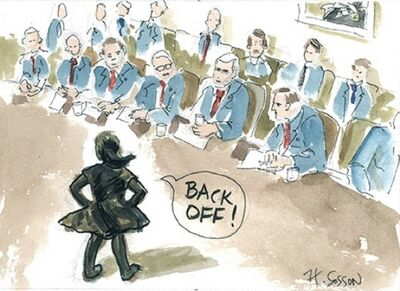 Harriett Sosson, 'Back Off'