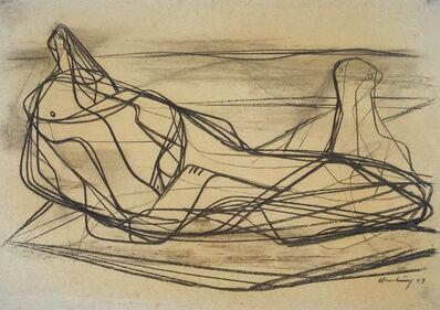 Karl Hartung, 'Zwei Frauen am Meer', 1949