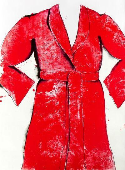 Jim Dine, 'Red Bathrobe', 1969