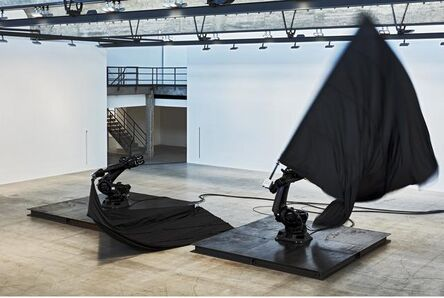 William Forsythe, 'Black Flags', 2014