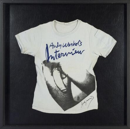 Andy Warhol, 'Torso on T-Shirt ', 1977-1978