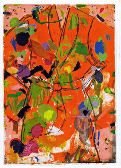 Jim Dine, 'The Orange Birthday Robe', 2010