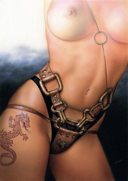 Ciruelo Cabral, 'Dragon Tattoo', 1991