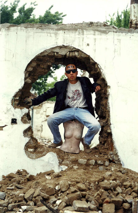 Zhang Dali, 'Demolition 199965A', 1999