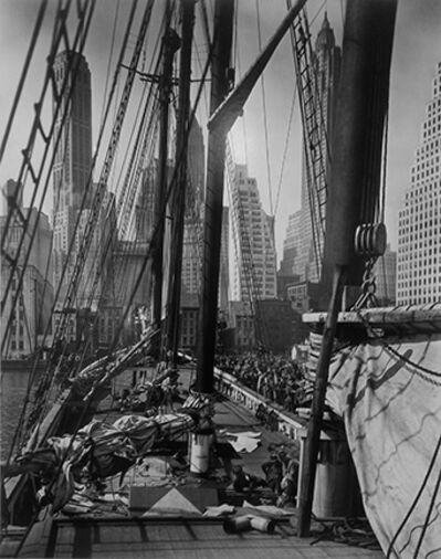 Berenice Abbott, 'Theoline, Pier 11, East River, NY', 1936