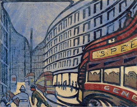 Claude Flight, 'Speed', 1922