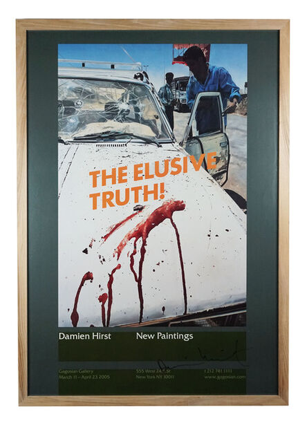 Damien Hirst, 'The Elusive Truth (Suicide Bomber Aftermath) ', 2005