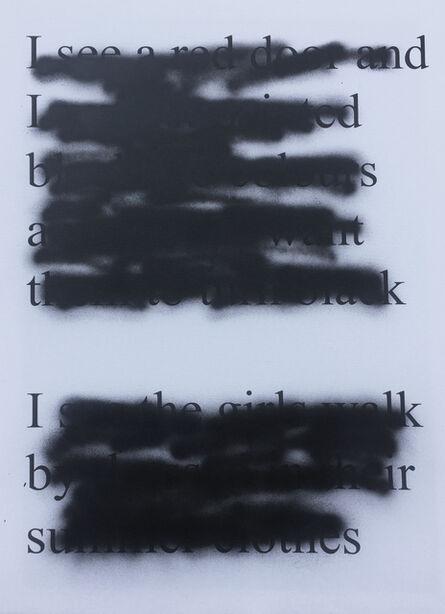 milosz odobrovic, 'Paint It Black #2', 2017
