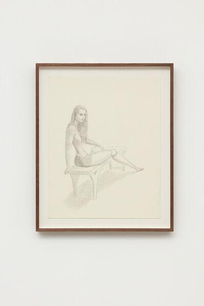 """Jansson Stegner, 'Study for """"The Locker Room""""', 2015"""