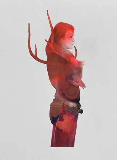 June Glasson, 'Rouge Taryn', 2021