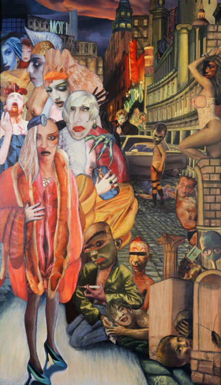 Nana Ohnesorge, 'Big City - Homage to Otto Dix 2', 1993