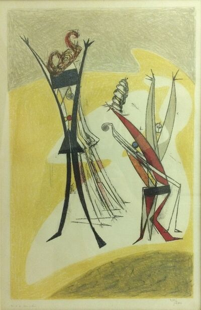 Max Ernst, 'Rhythmes', 1950
