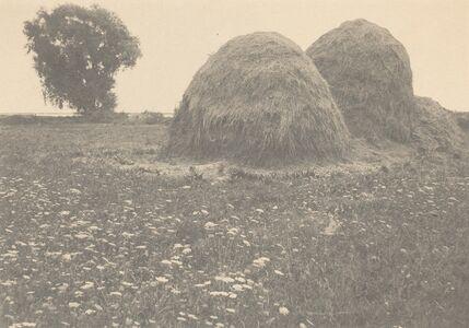 Arthur Wesley Dow, 'Haystacks, Ipswich', ca. 1894