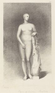 George Childs after John Flaxman, 'Venus of Cnidos, by Praxiteles', published 1829