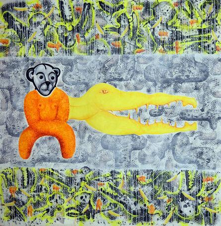 Eric Massholder, 'Teddy Croco woman', 2006