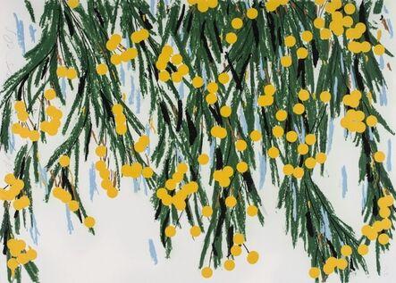 Donald Sultan, 'Yellow Mimosas, July 23, 2015', 2015