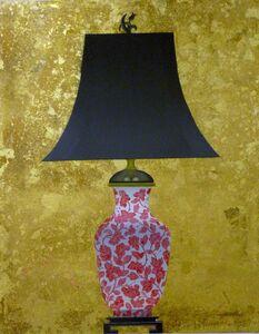Patrick Kirwin, 'Lamp I (Coral and White Floral Base)'