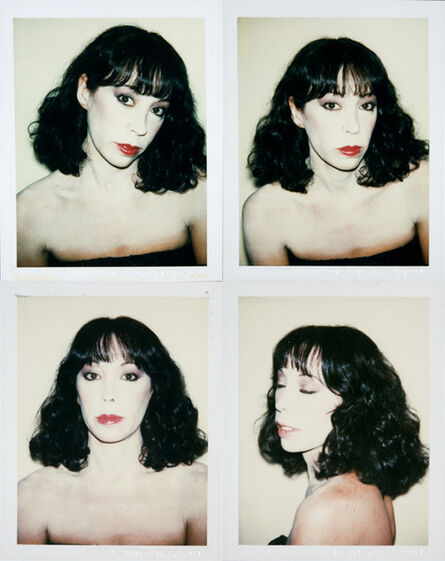 Andy Warhol, 'untitled (Janet Villella)', 1979