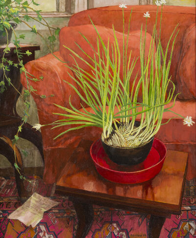 Anne Lyman Powers, 'Paperwhites and Red Chair', 2004