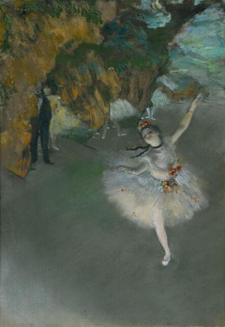 Edgar Degas, 'Ballet', 1876