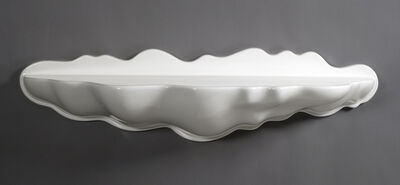 """Wendell Castle, '""""The White Edition"""" Molar Group Cloud shelf', 2012"""