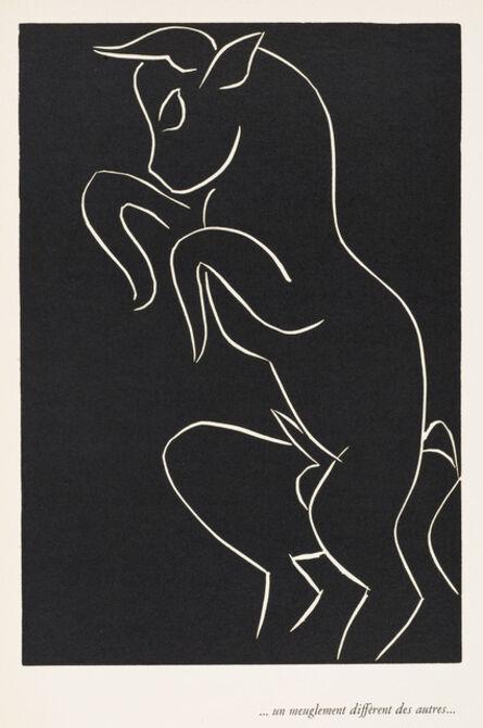 Henri Matisse, '. . . UN MEUGLEMENT DIFFÉRENT DES AUTRES . . . (. . . a roar different from all others . . .)', 1944
