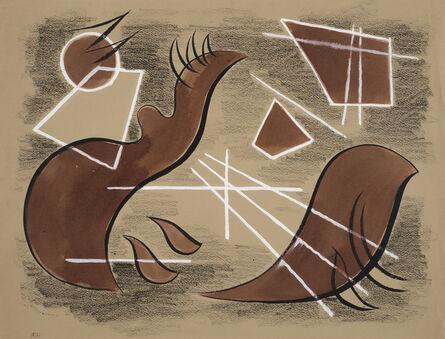 Werner Drewes, 'Composition A286', 1942