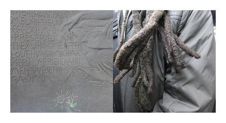 Ellen Wallenstein, 'Chalkmark/Subway Dreads', 2017
