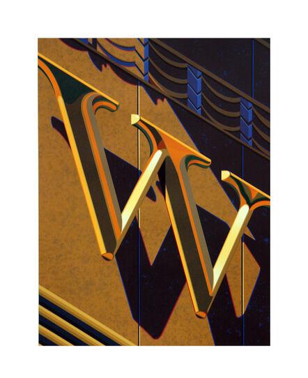 Robert Cottingham, 'An American Alphabet: W', 2010