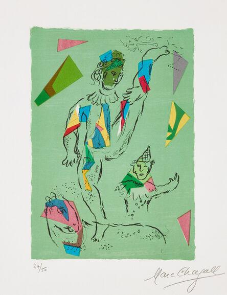 Marc Chagall, 'L'Acrobate vert (The Green Acrobat) (M. 946)', 1979
