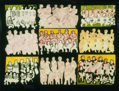 Rubens Gerchman, 'Os 99 Heróis do Estádio', 1965
