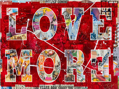Peter Tunney, 'LOVE MORE', 2020