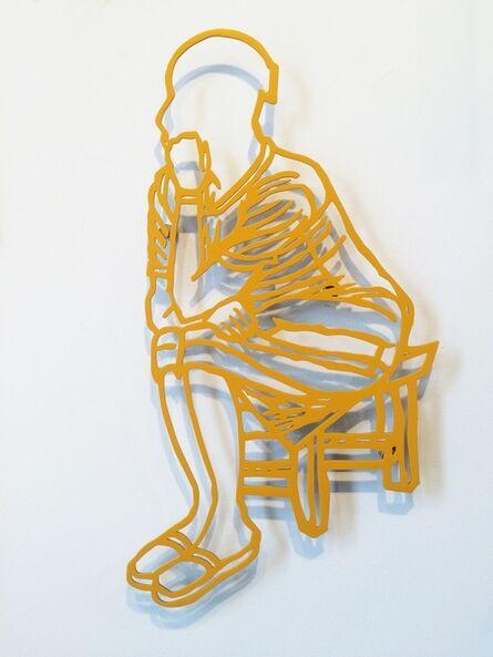 Boris Nzebo, 'La Penseuse', 2016