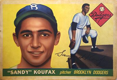 George Mead, '1955 Topps Sandy Koufax', 2017
