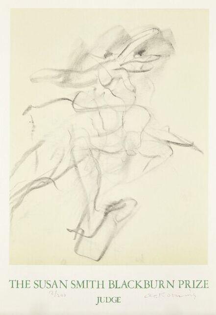 Willem de Kooning, 'The Susan Smith Blackburn Prize Judge poster', 1978