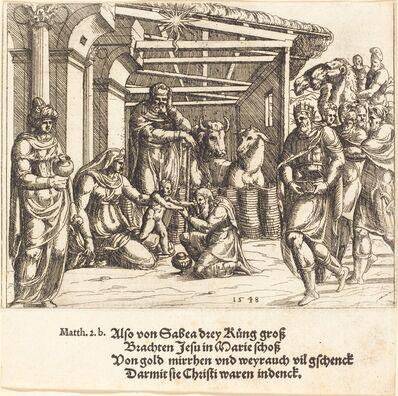 Augustin Hirschvogel, 'The Adoration of the Magi', 1548