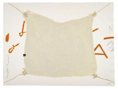 Antoni Tàpies, 'Mocador Lligat', 1972