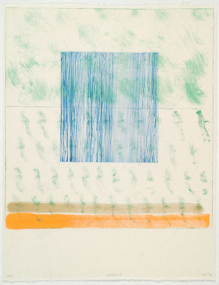 Richard Tuttle, 'Naked X', 2004