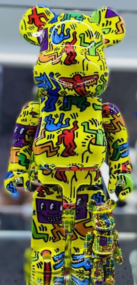 Keith Haring, 'Keith Haring Bearbrick 400% Companion (Haring BE@RBRICK)', 2020