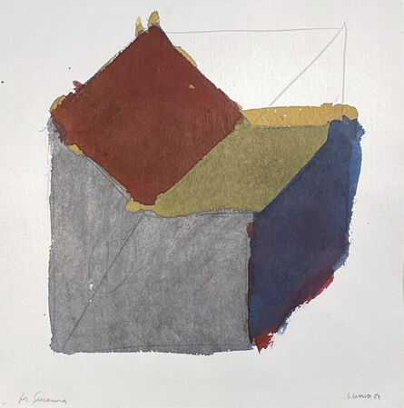 Sol LeWitt, 'Form Derived from a Cube (Sloppy)', 1981