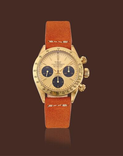 Rolex, 'Yellow gold, ref. 6265 Daytona chronography retailed by Tiffany & Co.'