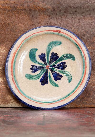 'flower plate', 1940-1950