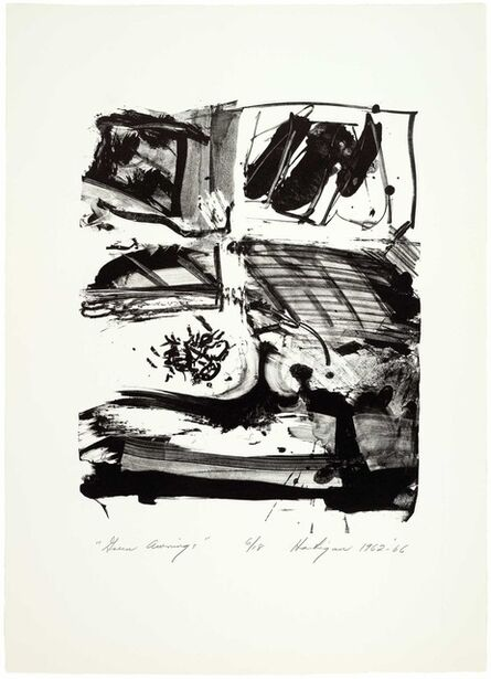 Grace Hartigan, 'The Archaics: Green Awnings', 1962-1966