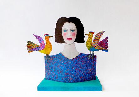 Jean Dessirier, 'L'Oiseleuse', 2014