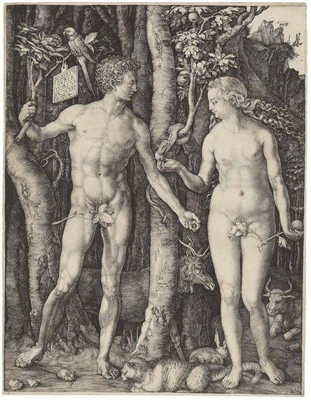 Albrecht Dürer, 'Adam and Eve (B., M,. Holl. 1; S.M.S. 39)', 1504