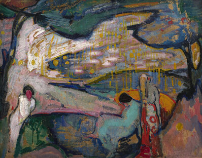 William Sommer, 'Golden Lights', 1912-1915